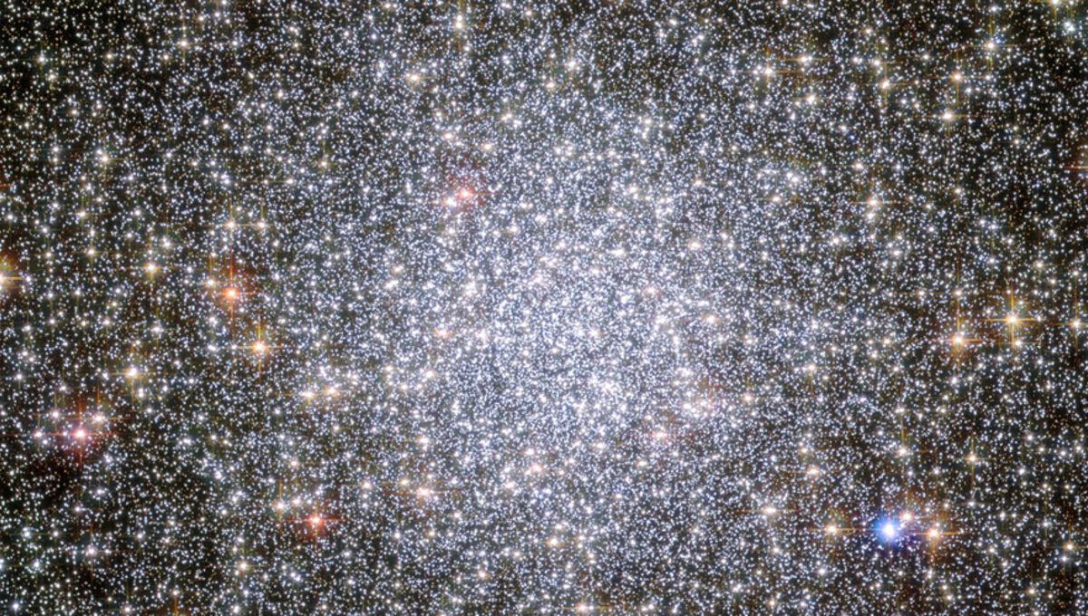 Hubble image of 47 Tuc