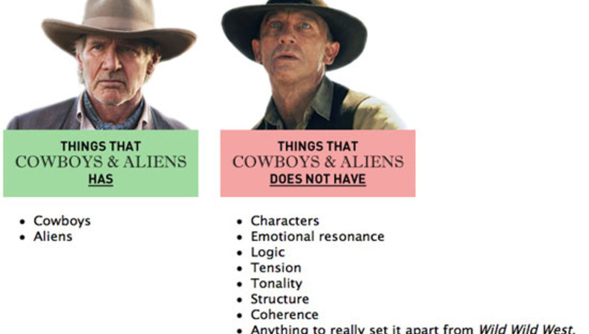 Image of the Day: 2 things Cowboys & Aliens has and 8 it doesn't