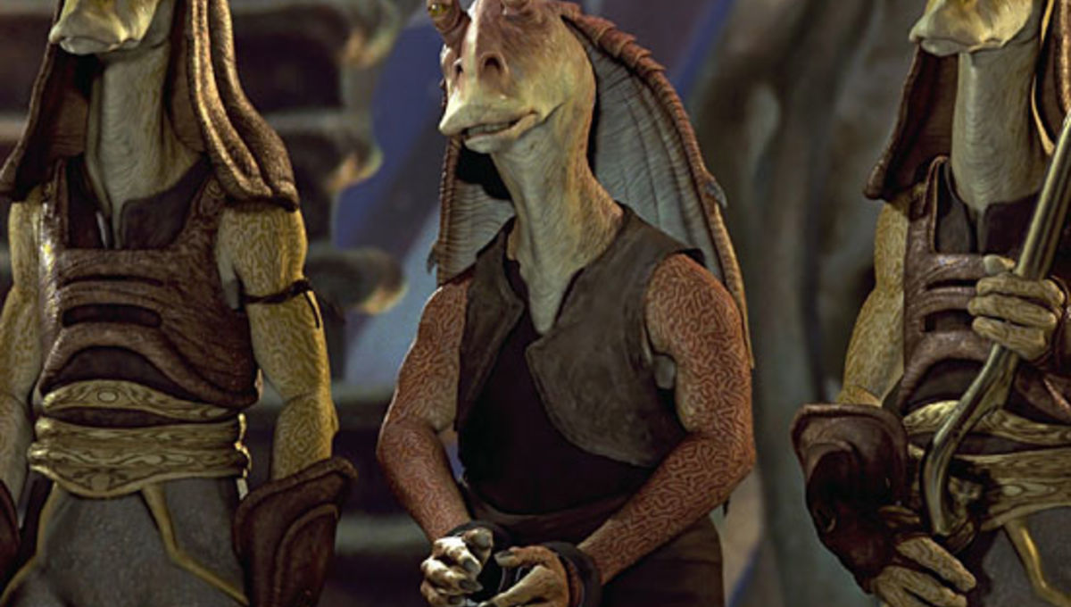 Jar Jar Reveals Deleted Scene That Would Have Made You Like Him