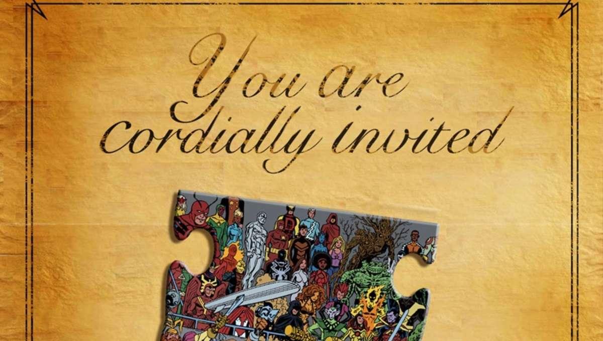 Marvel Wedding Invitation 2