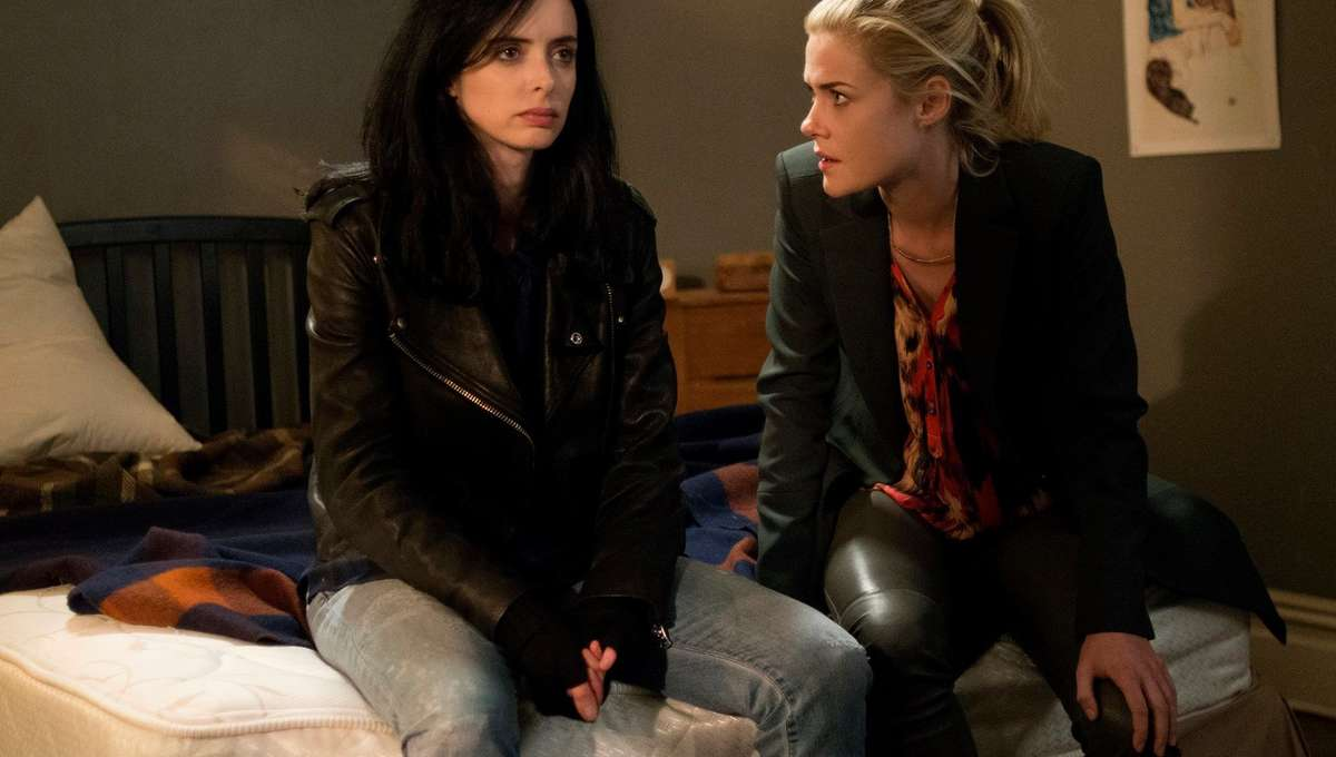 Krysten Ritter in Marvel and Netflix's Jessica Jones