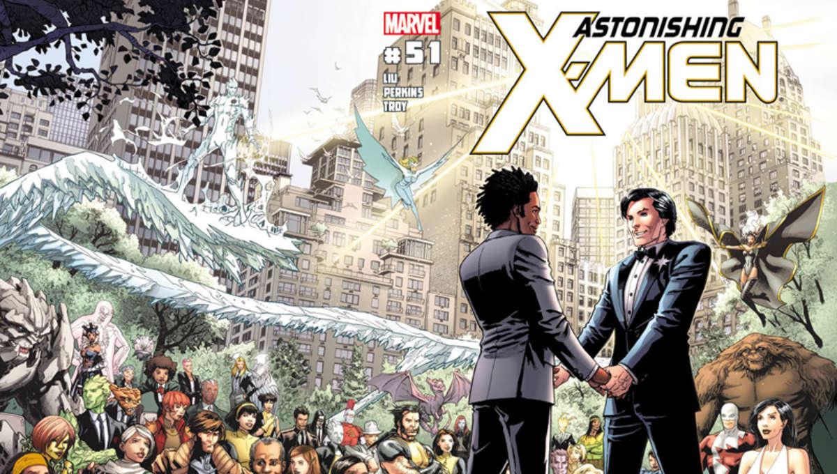 Northstar X-Men wedding