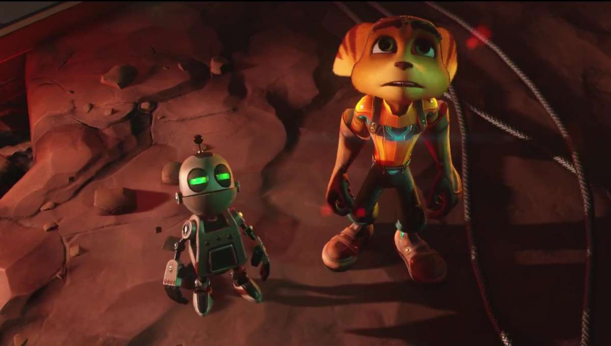 Ratchet Clank First Videogame Trailer For Sony S Ps4 Blastr