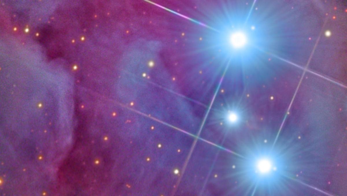 Rolf Olsen image of part of the Orion Nebula