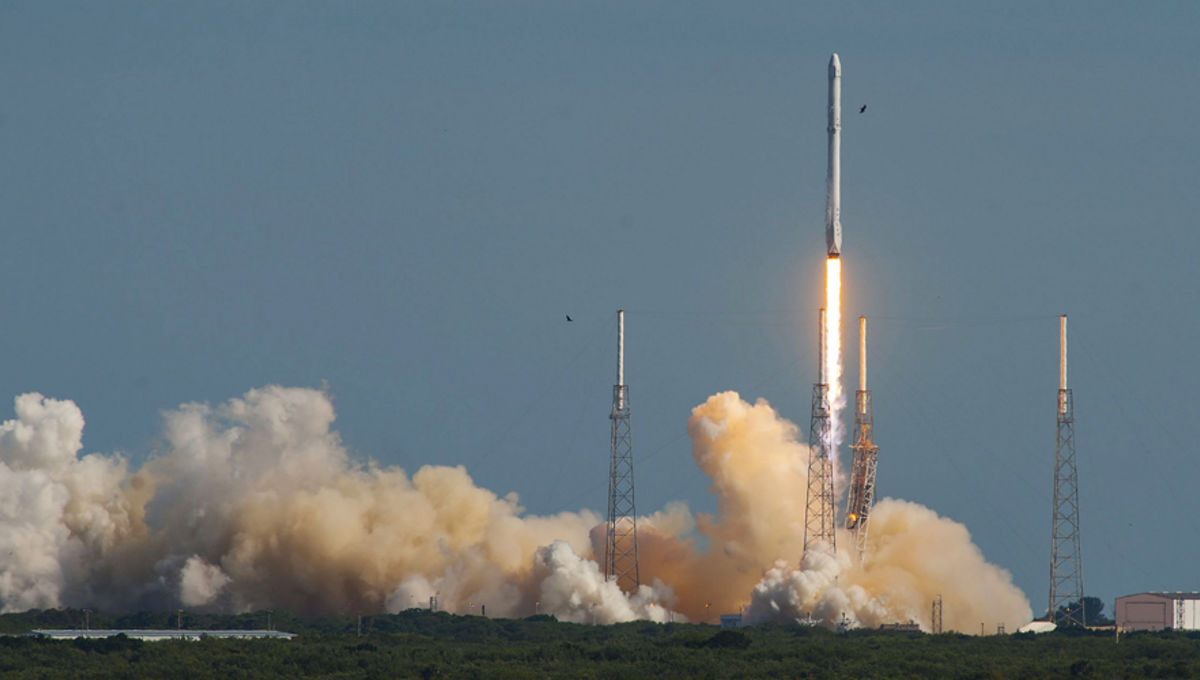 Falcon 9 launch of CRS-8
