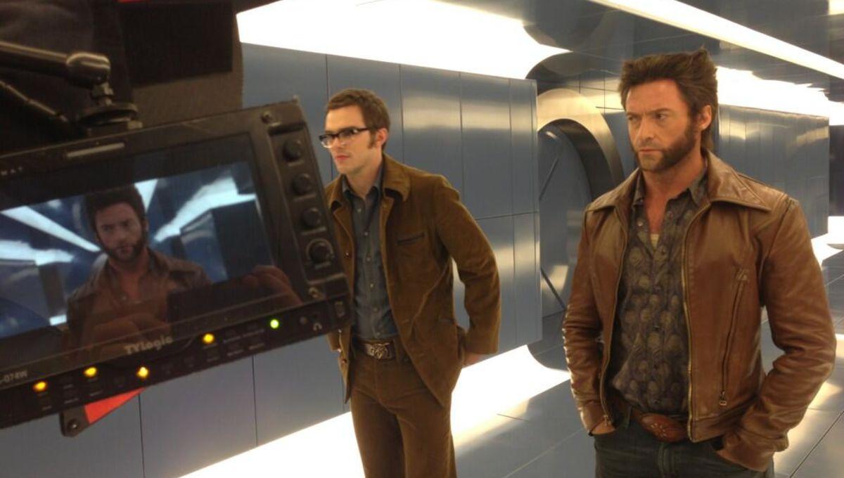 X-Men: Days of Future Past (Hugh Jackman, Nicholas Hoult)