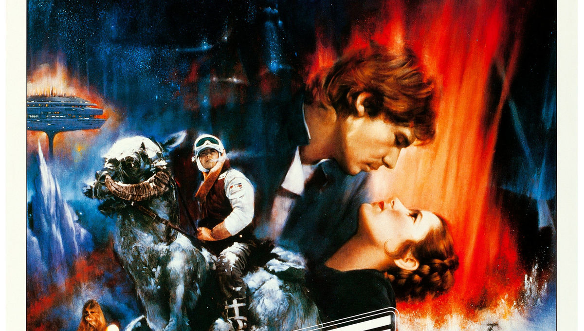 WORLD RECORD-$26,400 Empire Strikes Back  Roger Kastel Concept Poster credit Heritage Auctions