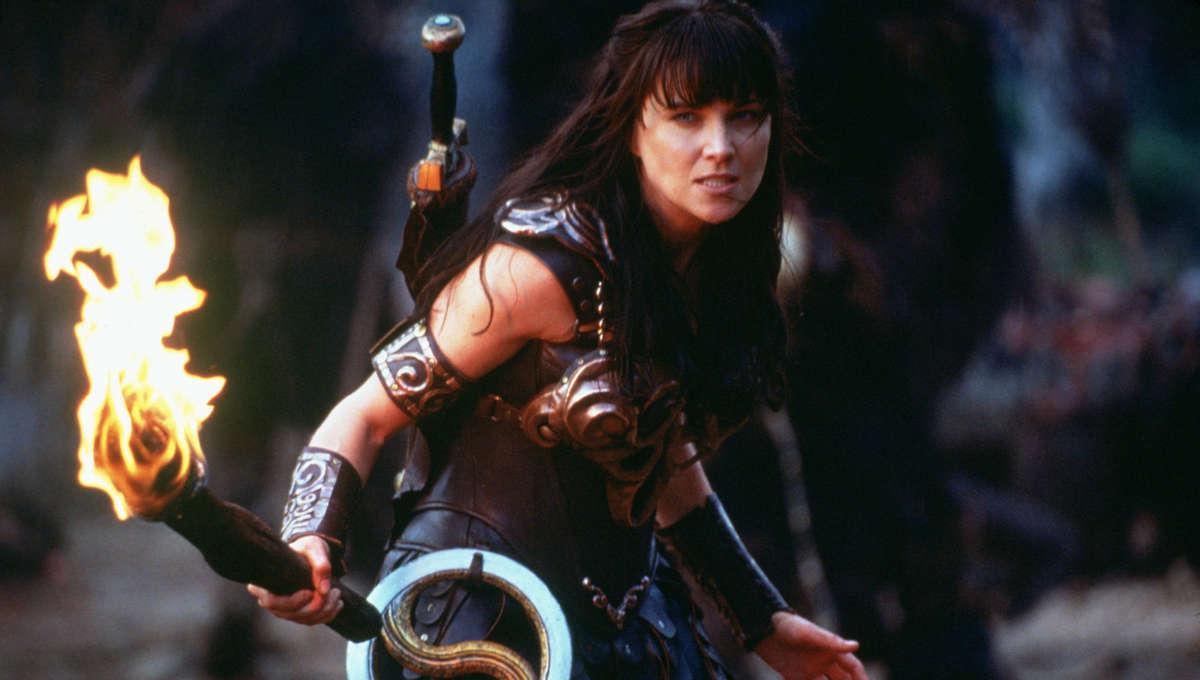 Xena (Lucy Lawless) - Xena: Warrior Princess