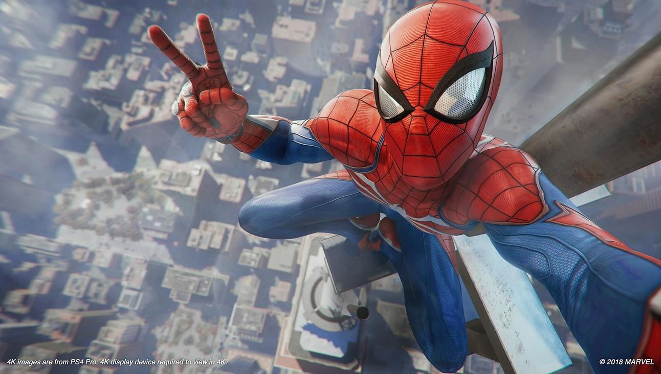 Spider-Man Insomniac: Peace Sign