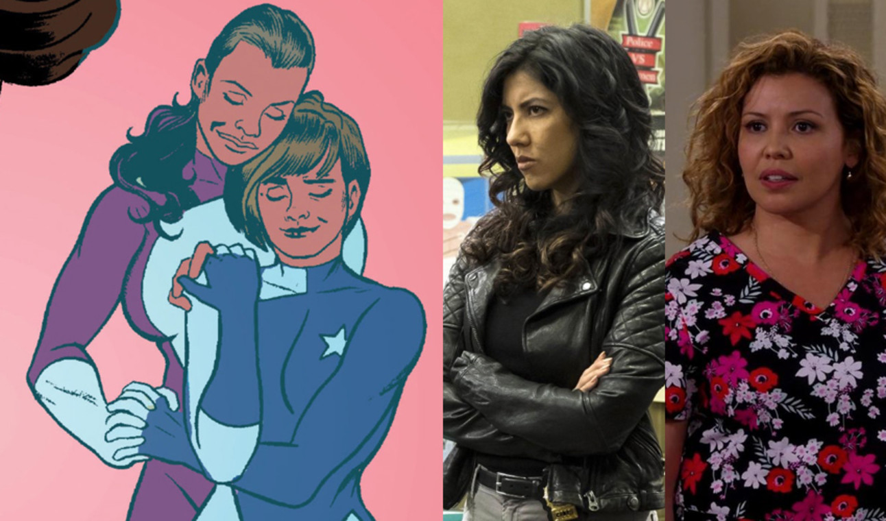 Stephanie Beatriz and Justina Machado as America's Moms.jpg