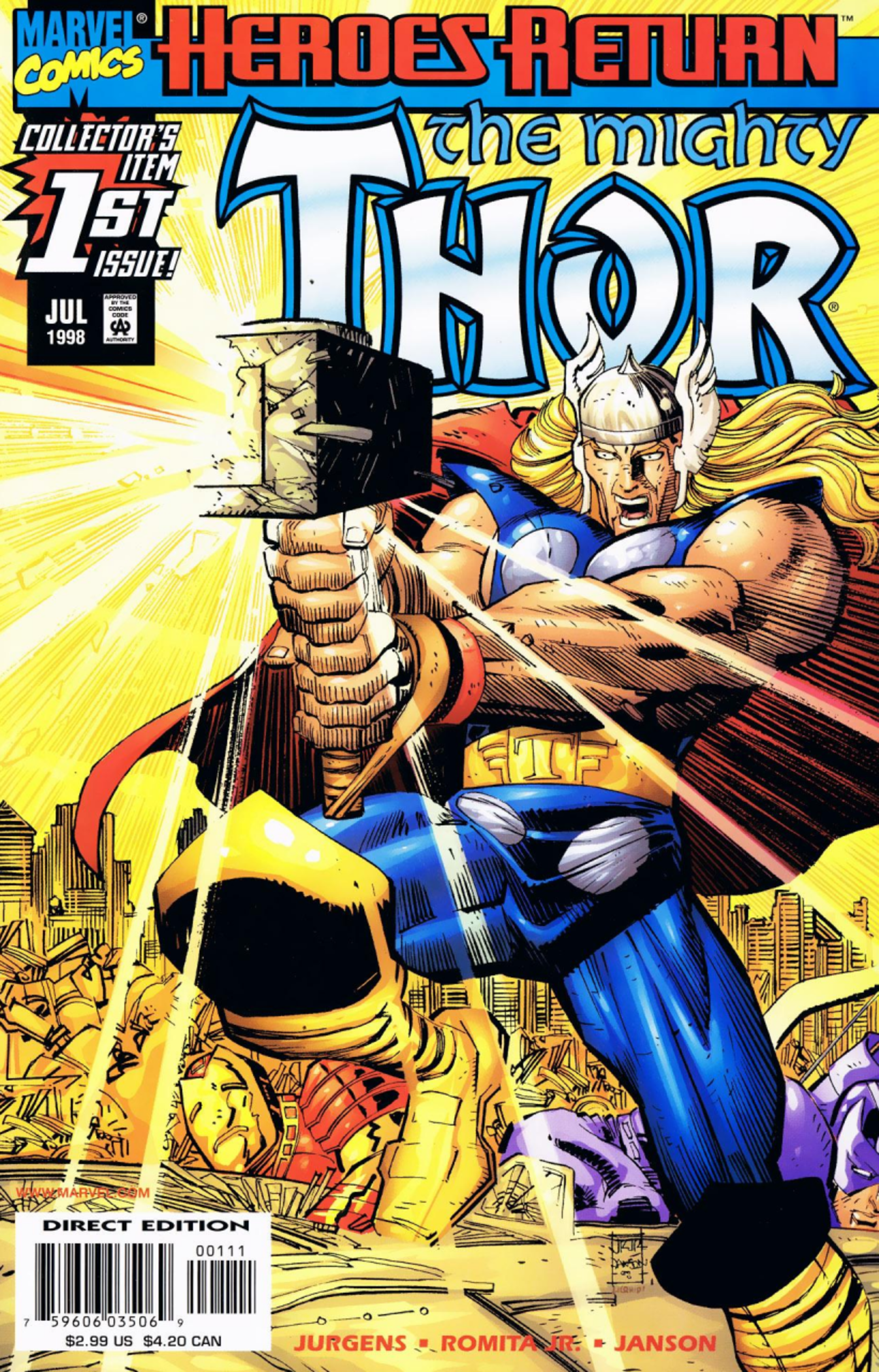 25 of the best comics covers of the last 25 years