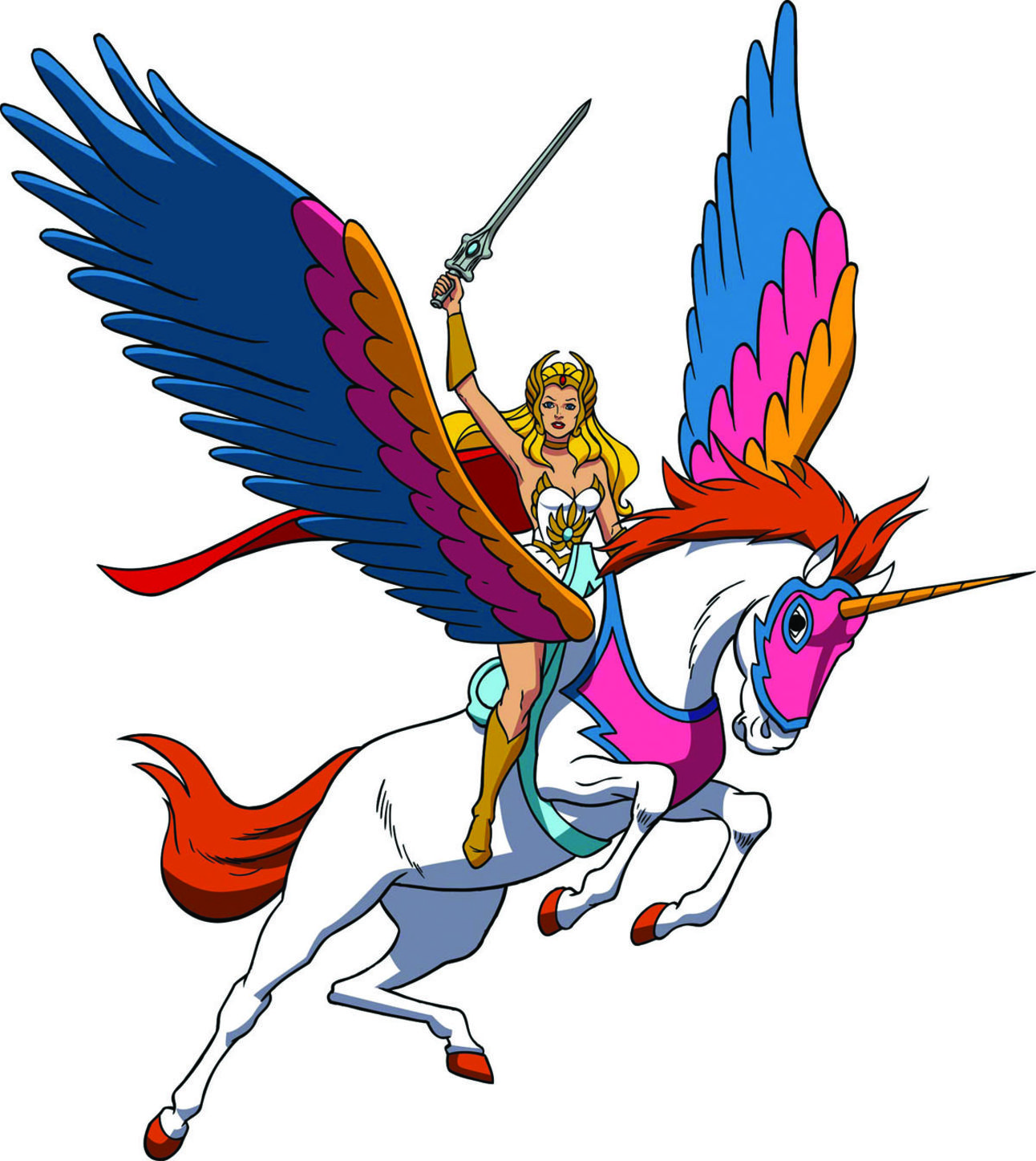 Celebrating She-Ra's anniversary and She-Ra and the