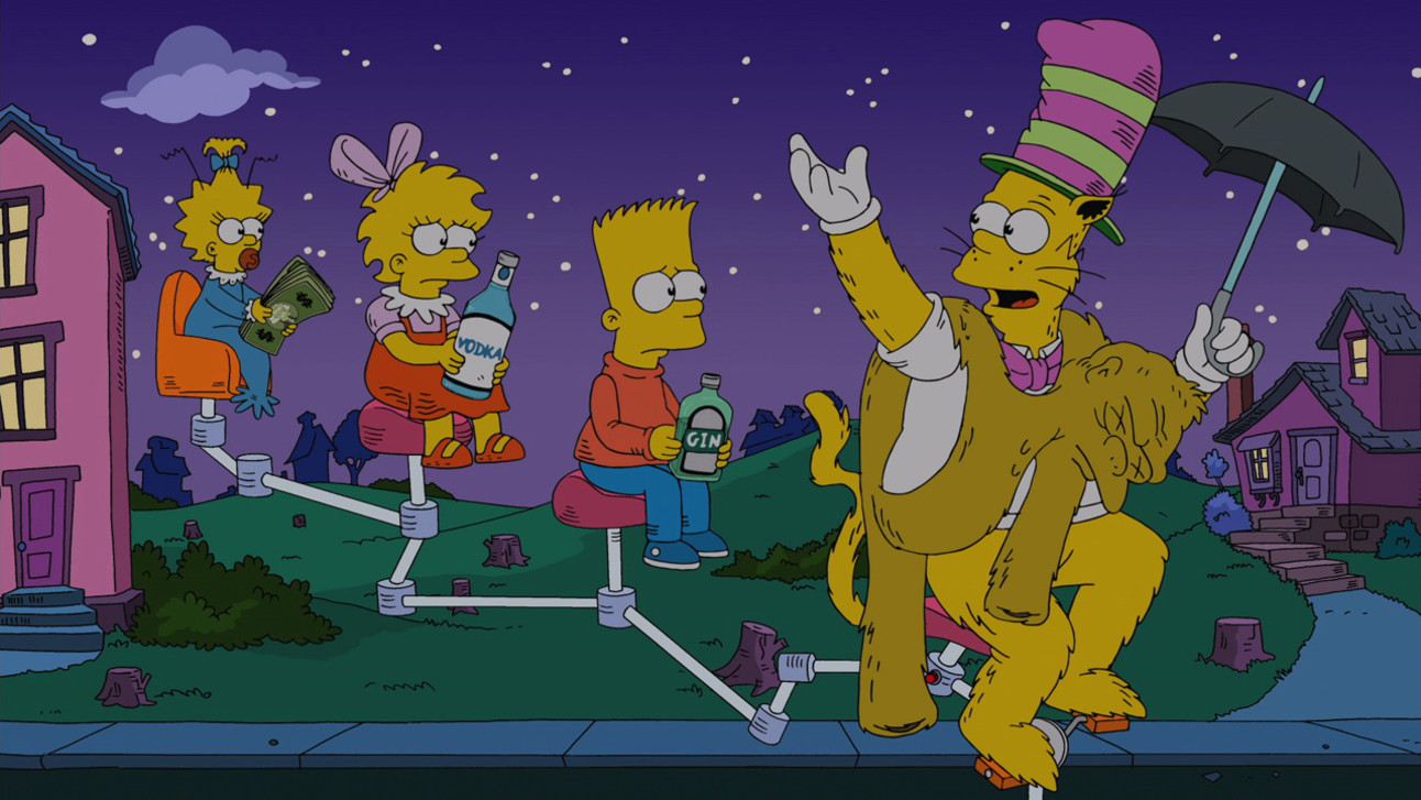 SYFY - 25 Greatest Treehouse of Horrors Segments from The Simpsons