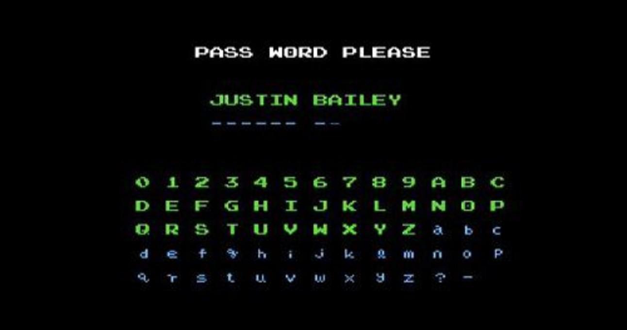 Metroid: Justin Bailey code