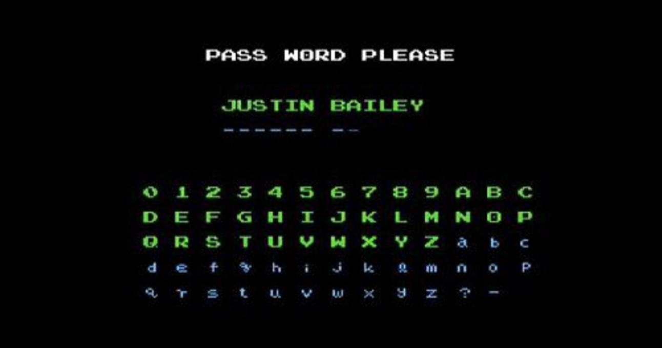 Metroid: Justin Bailey code