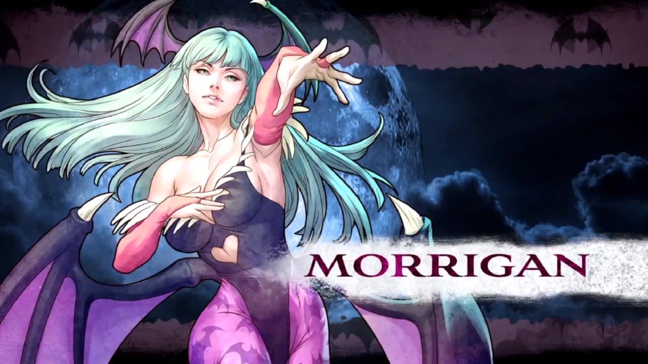 Darkstalkers: Morrigan