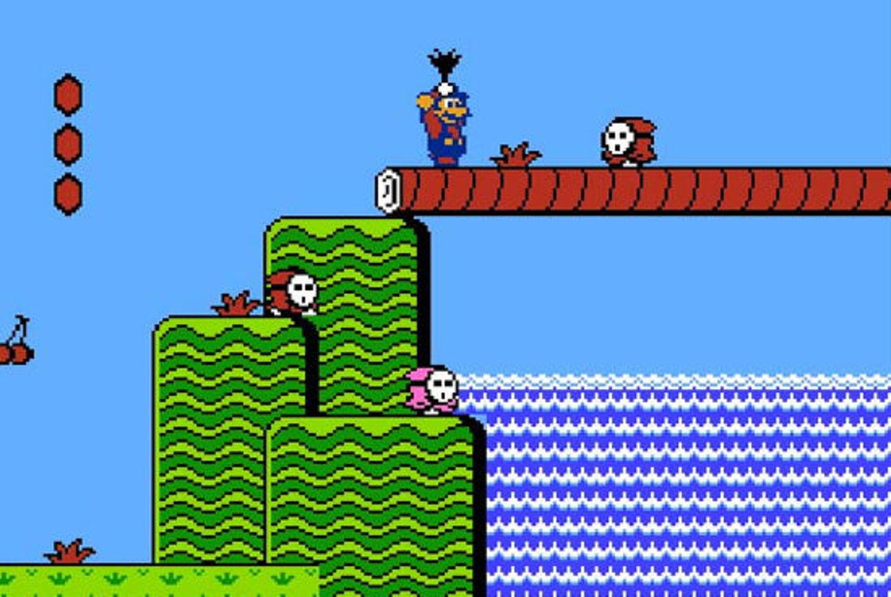 Super Mario Bros. 2 - Warp Worlds