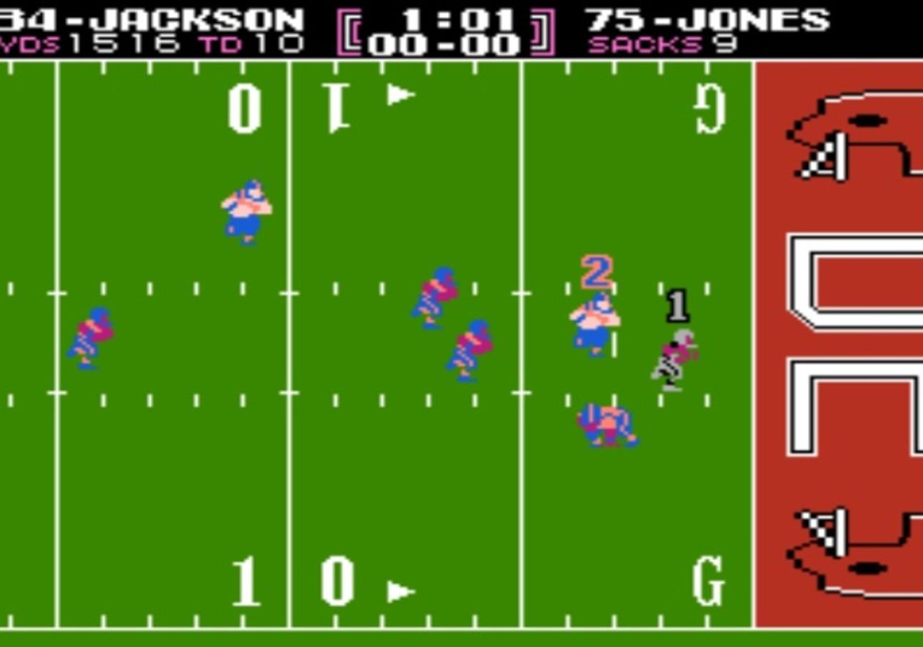 Tecmo Bowl: Screenshot