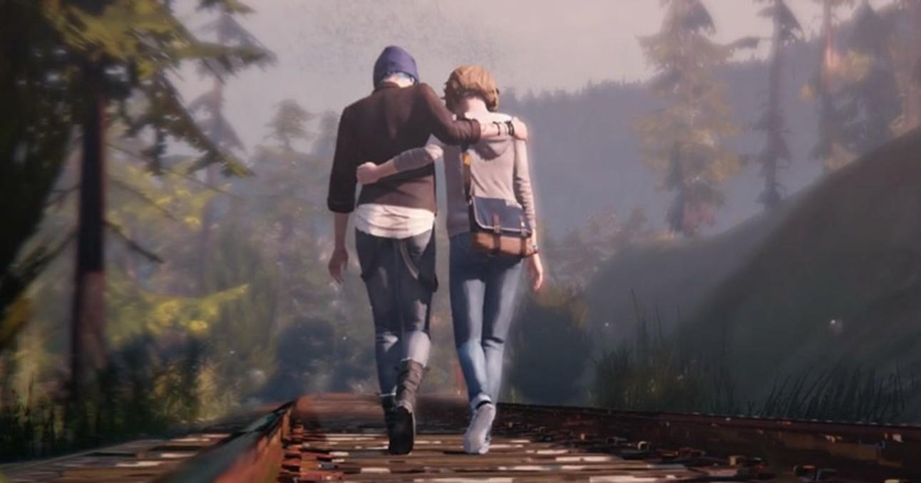 Life is Strange: Chloe and Max Walking