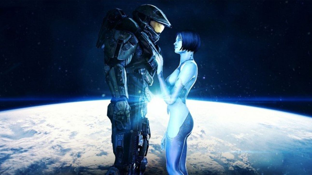 Halo 4 - Chief and Cortana