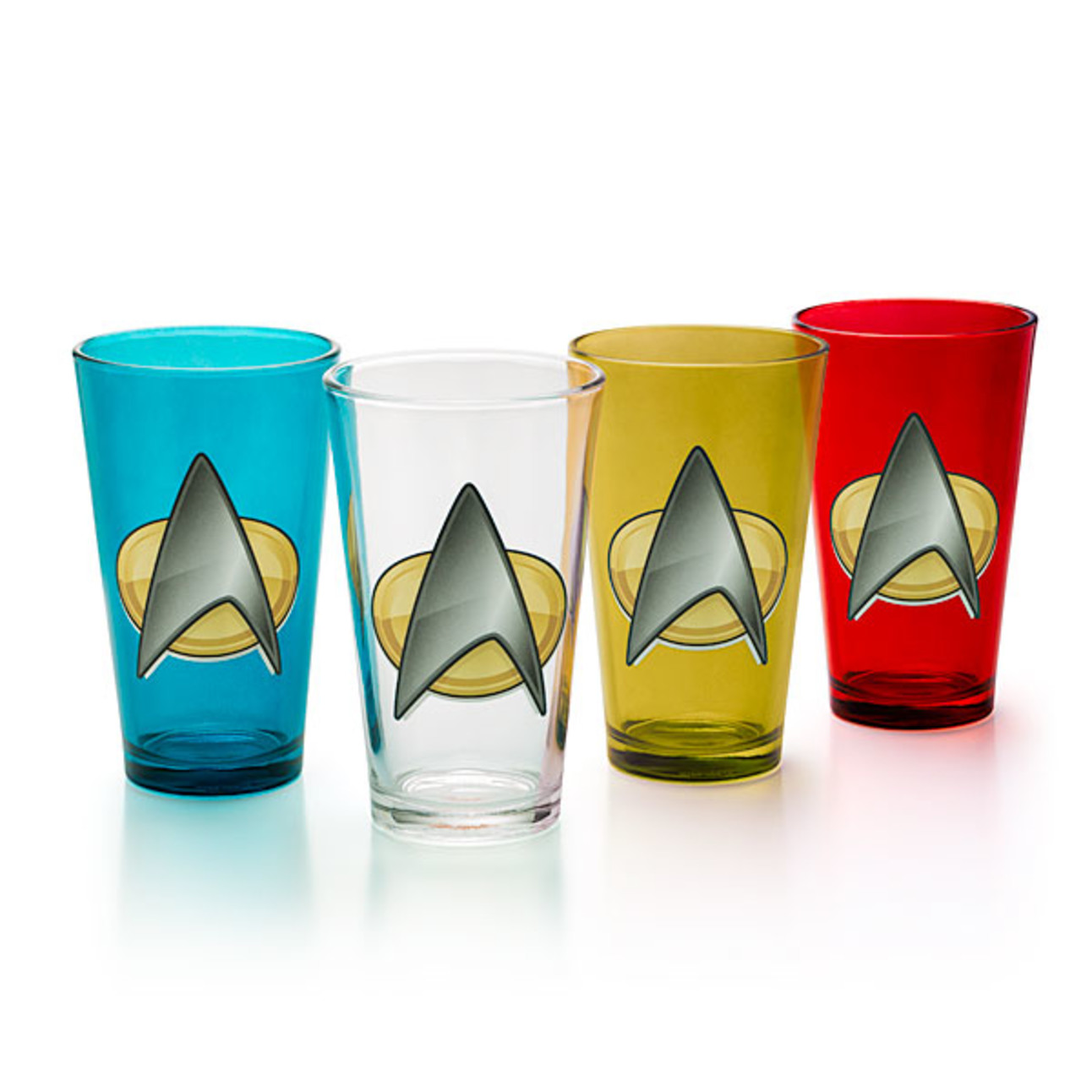 Star Trek TNG pint glass set