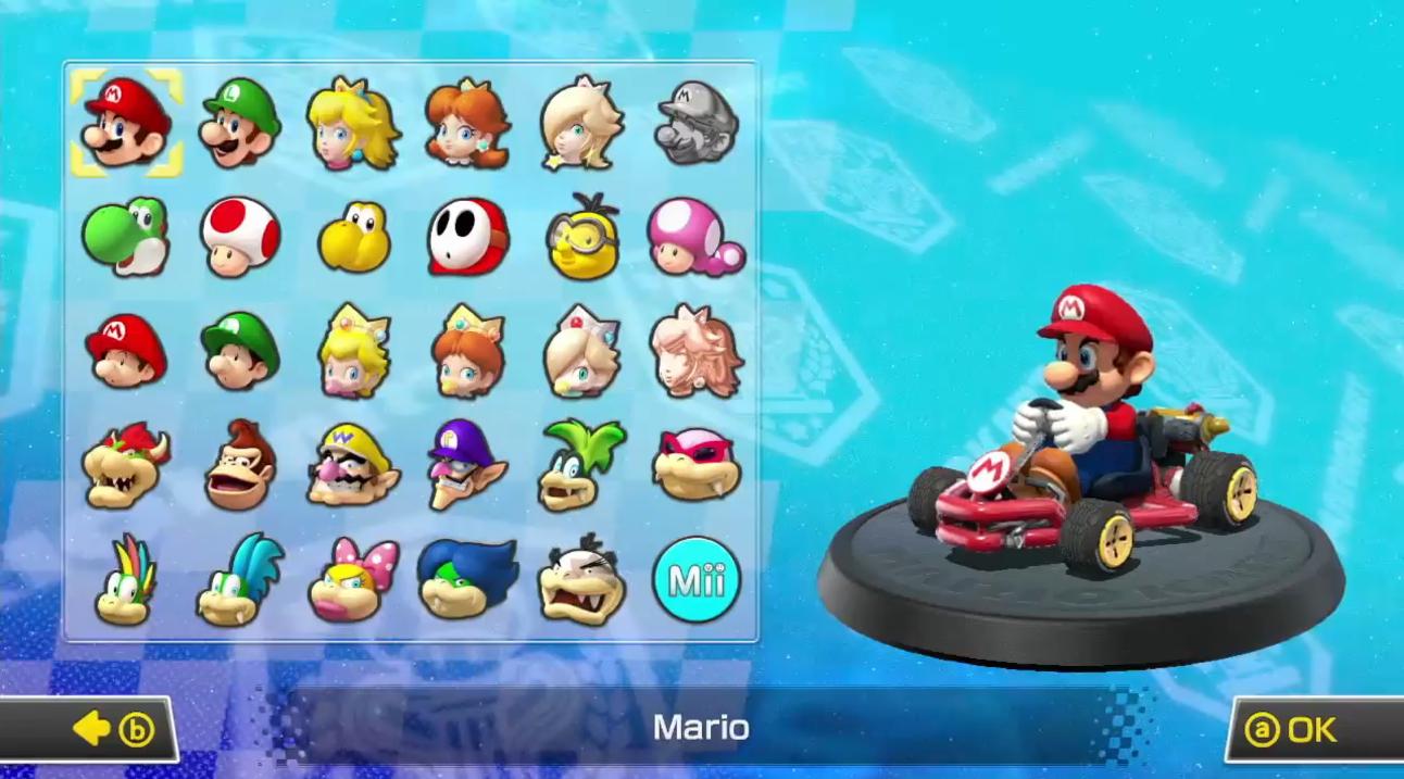 Mario Kart - Mario Kart Characters