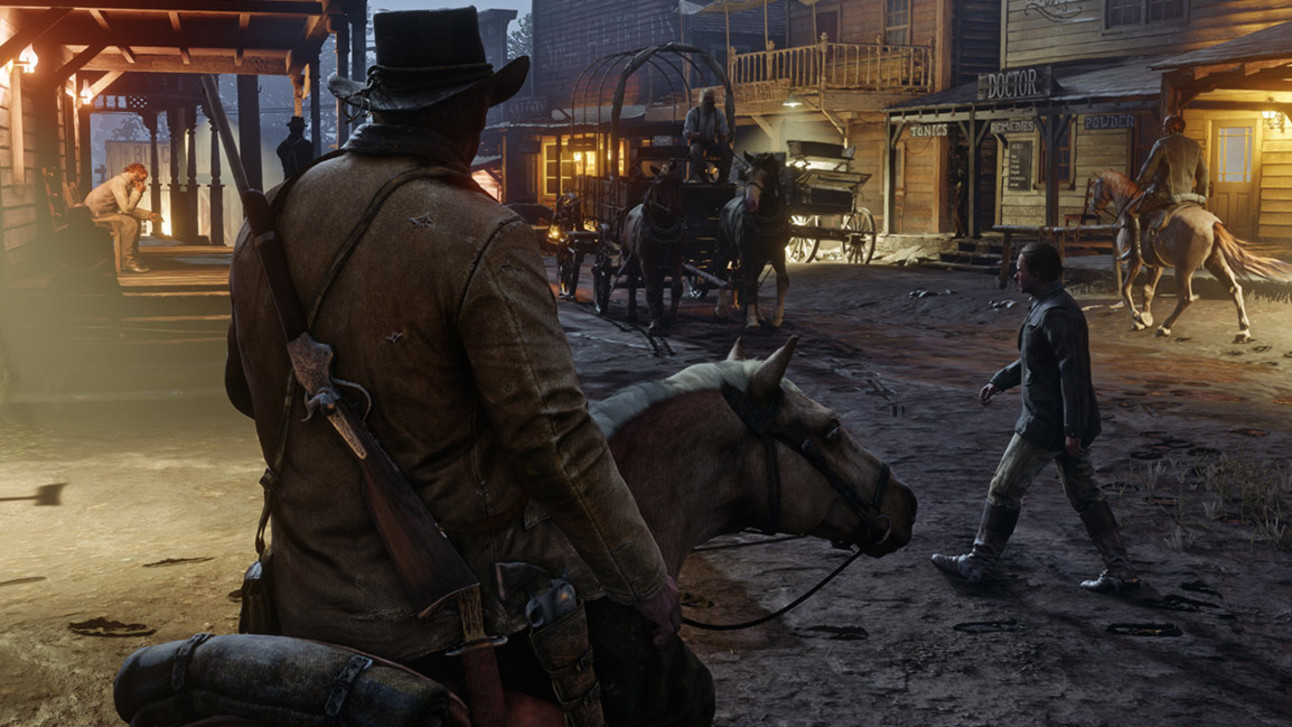 Red Dead Redemption 2 - Night Time