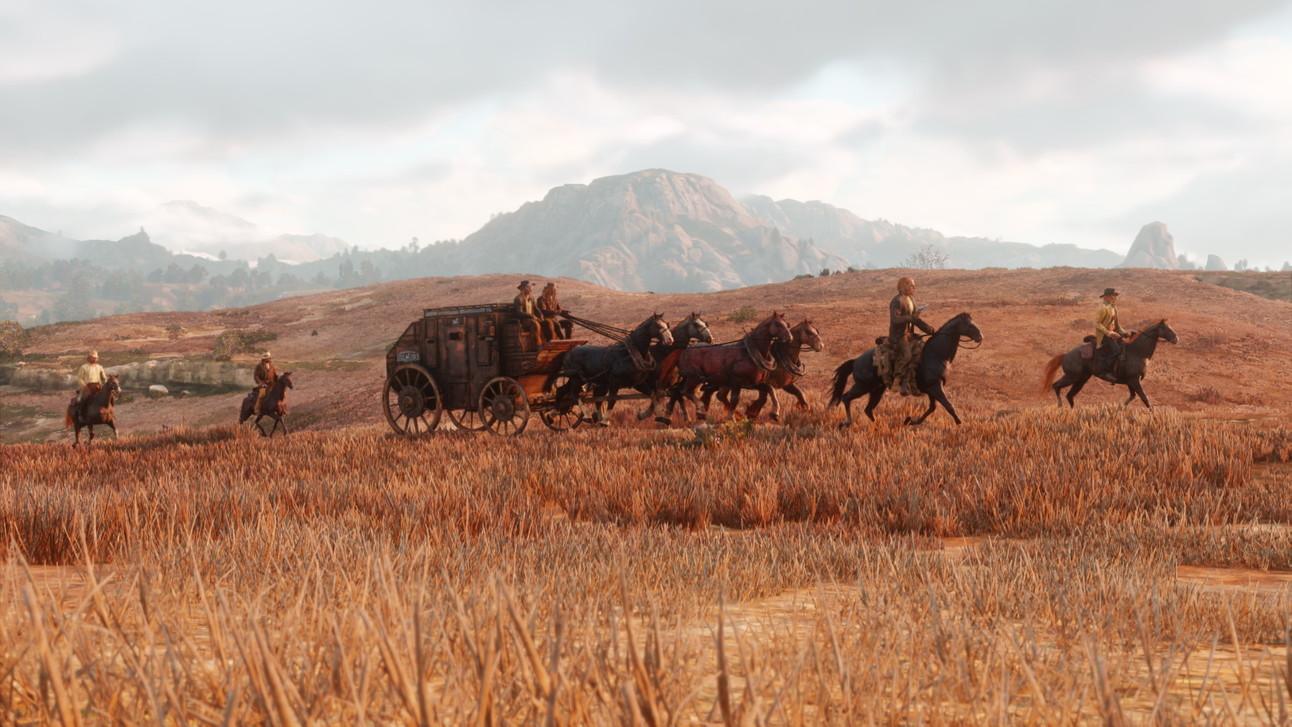 Red Dead Redemption 2 - Landscape