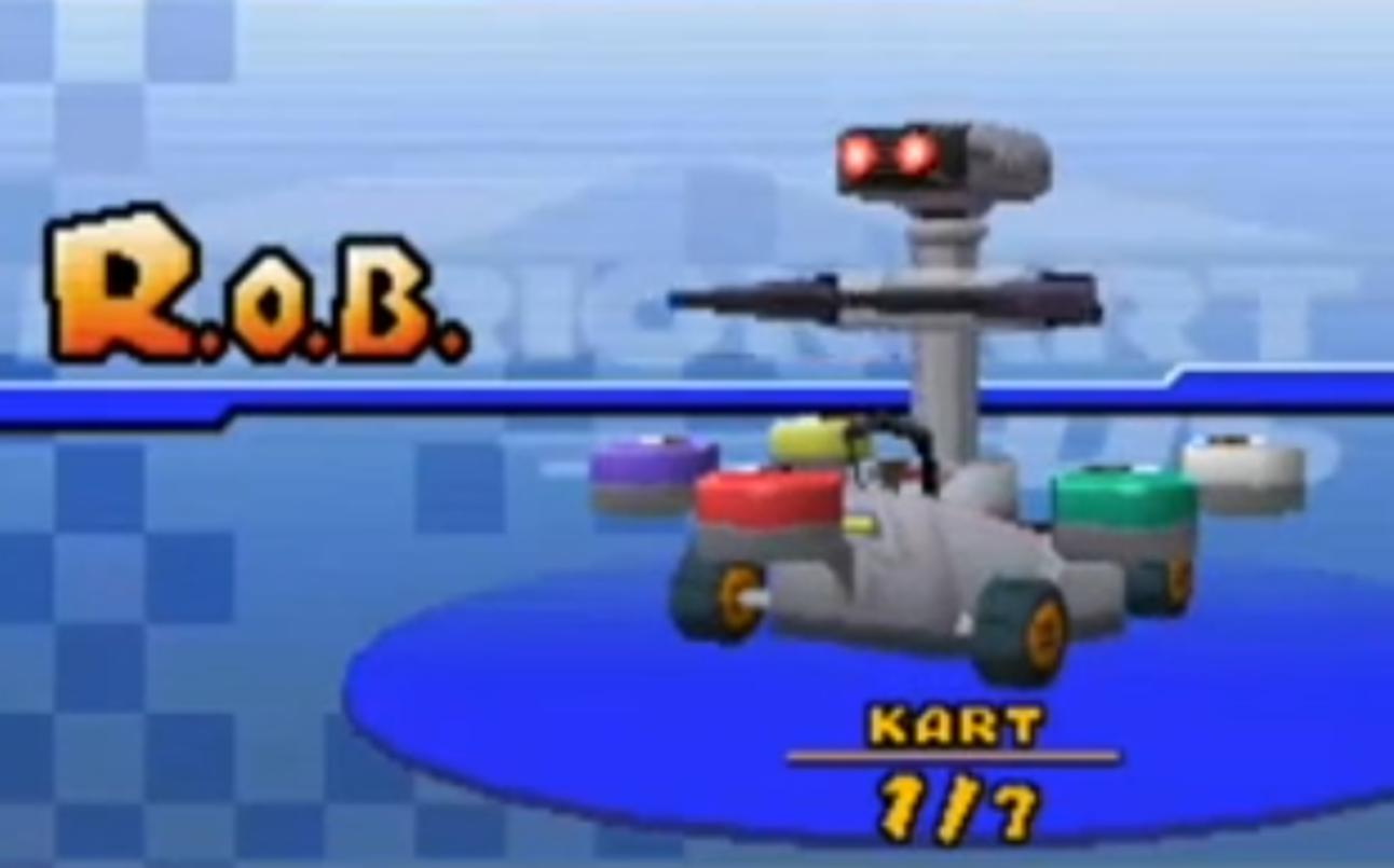 Mario Kart - R.O.B.