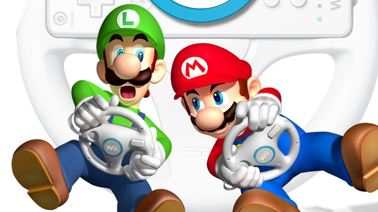 Mario Kart - Wii Steering