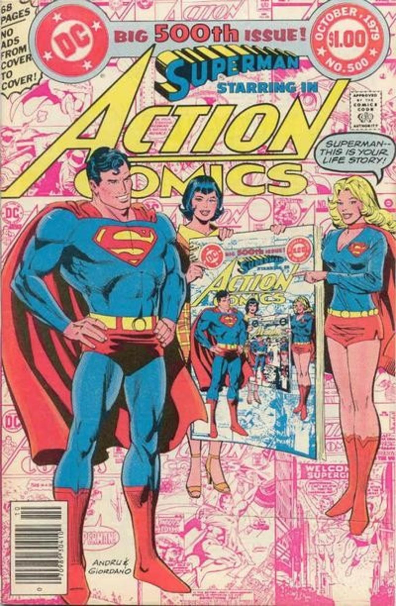 Superman Action Comics 500