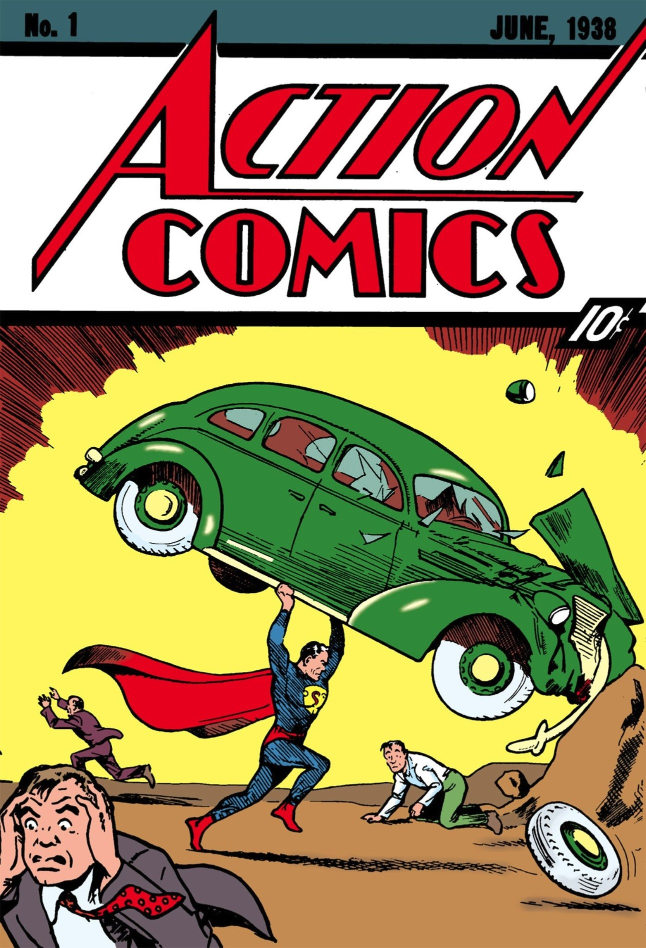 Action Comics 1 Superman