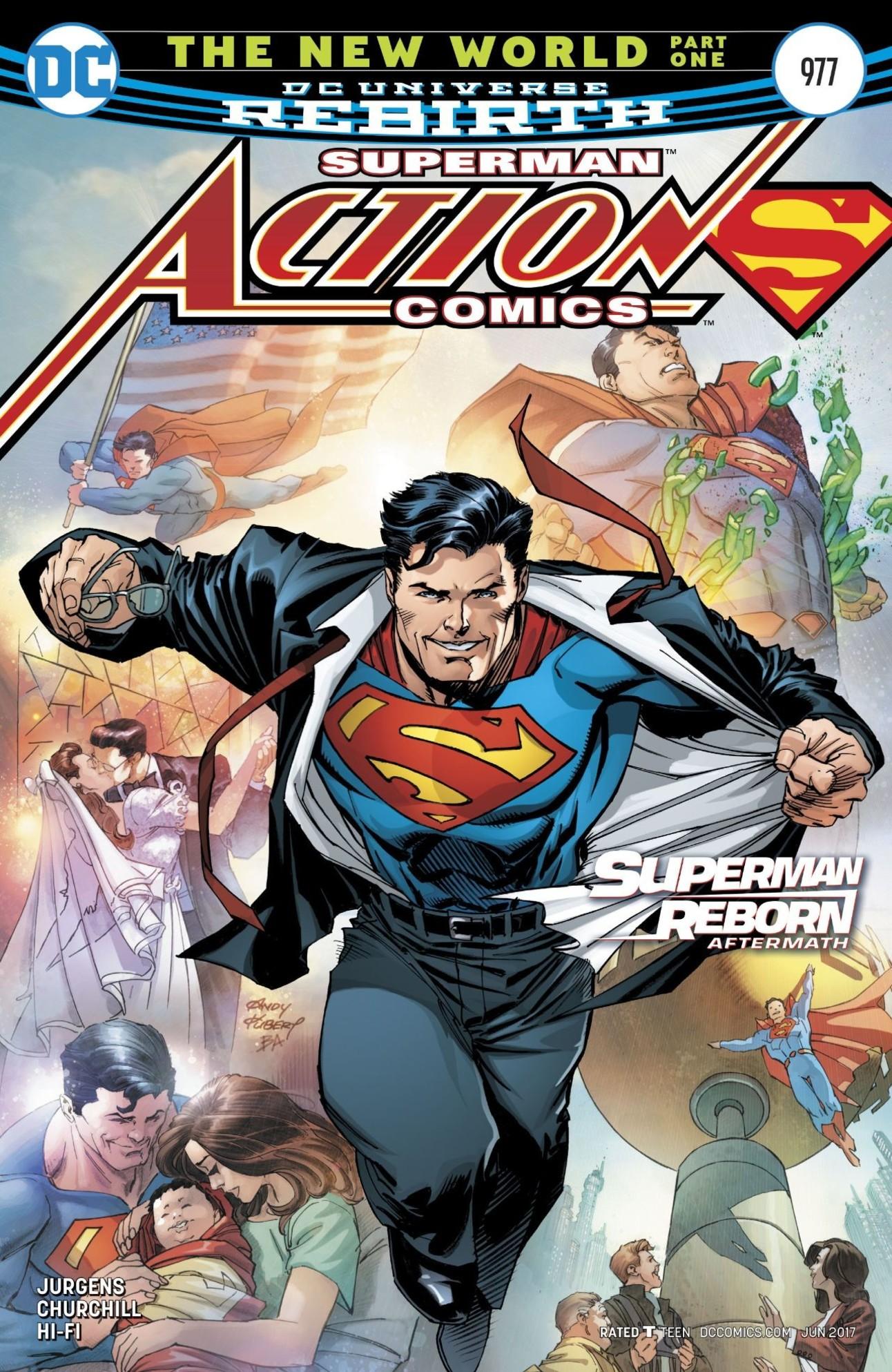 Superman Action Comics The New World