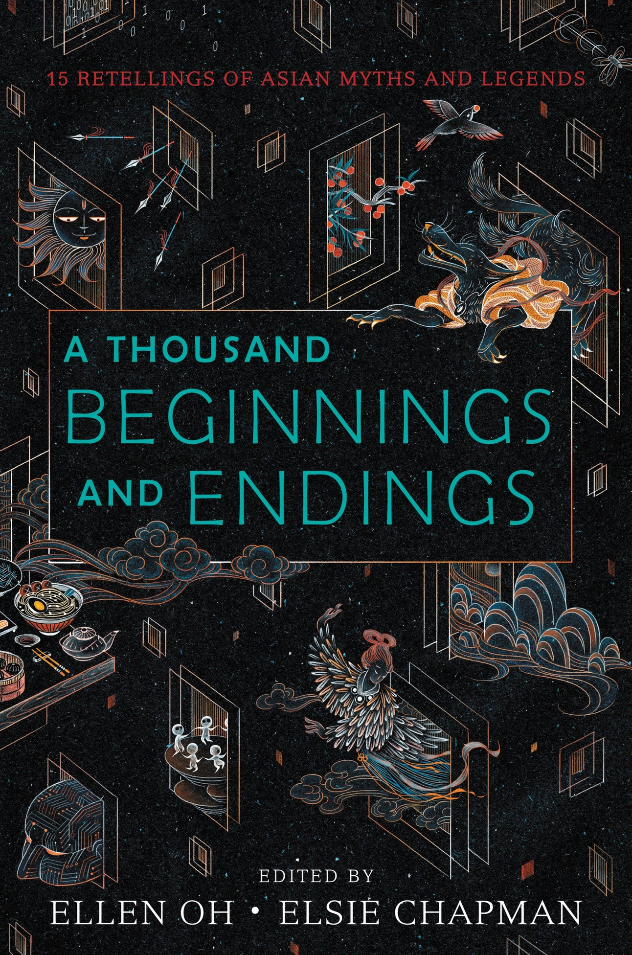 a thousand beginnings and endings book cover