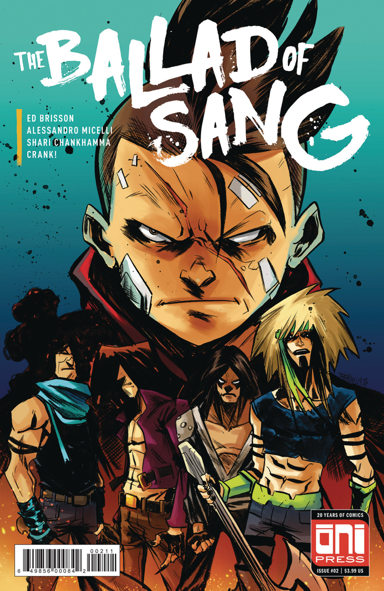 The Ballad of Sang #2 Cover by Alessandro Micelli
