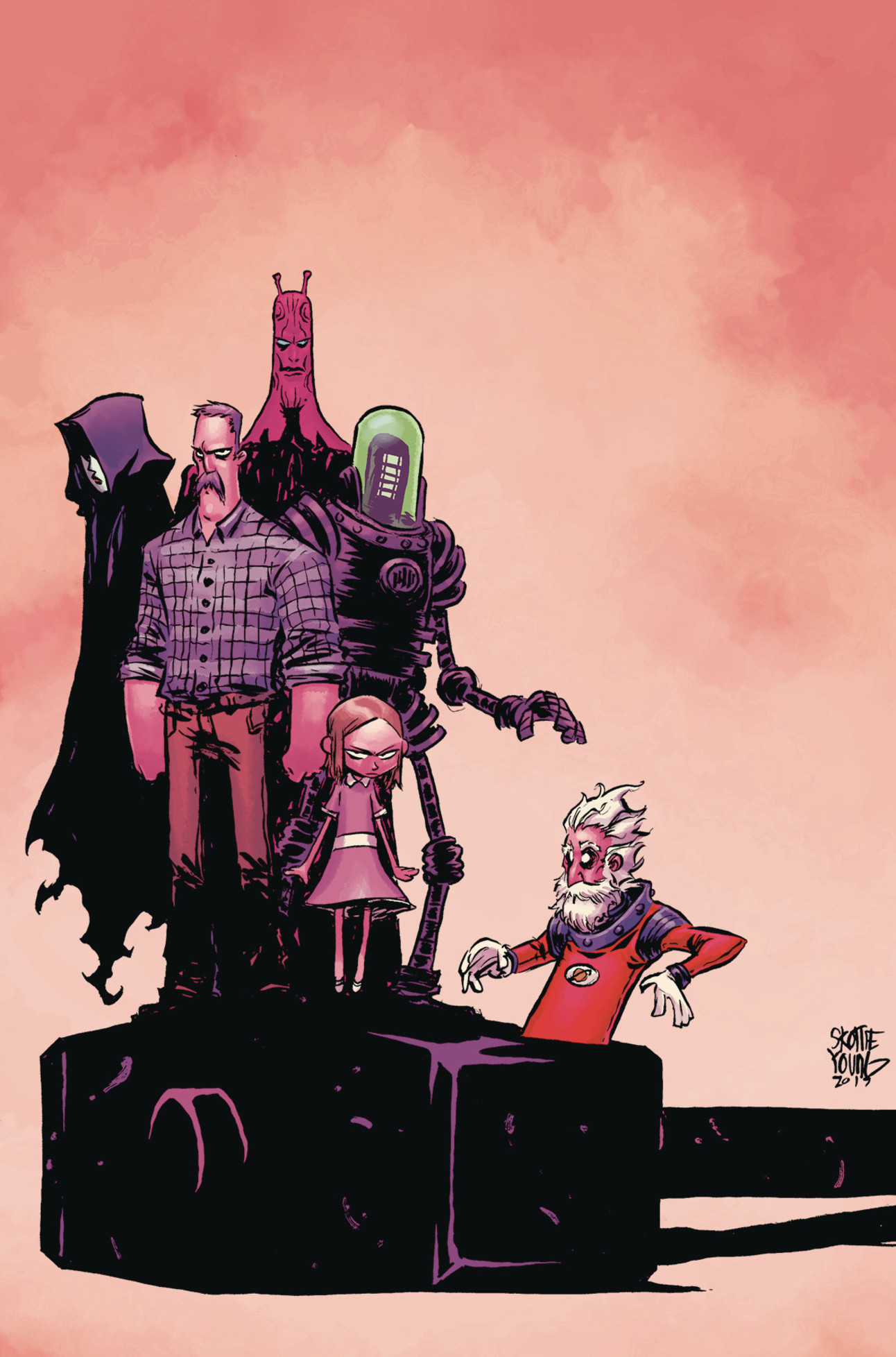 Black Hammer: Age of Doom 01 Skottie Young Cover