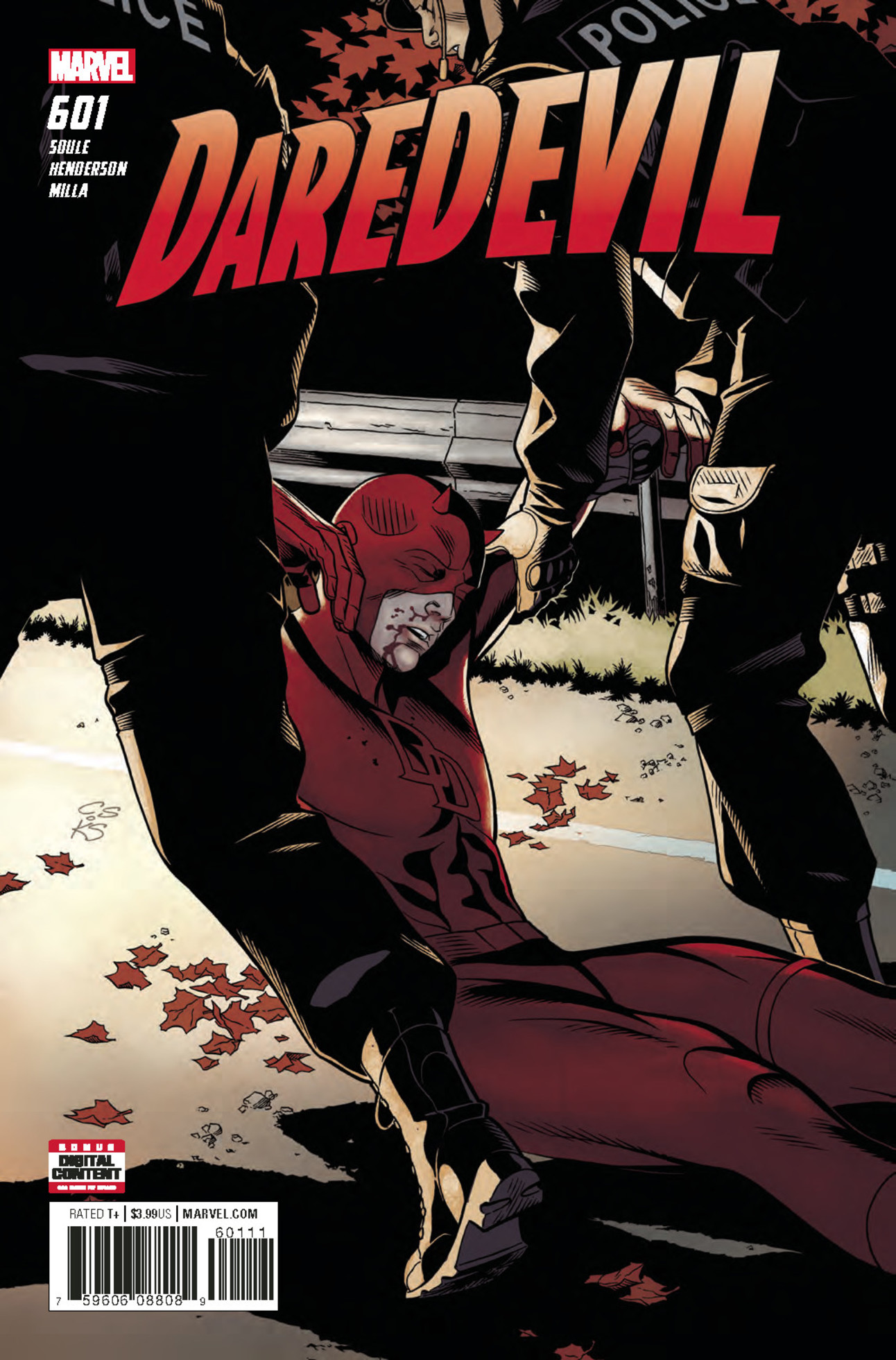 Daredevil #601 Cover by Chris Sprouse