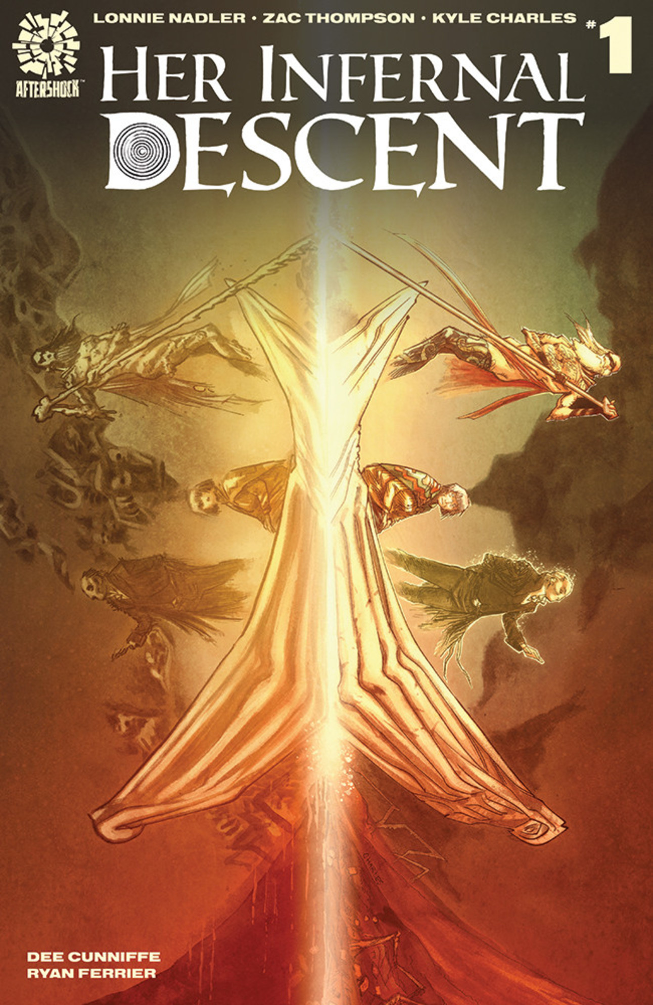 Her Infernal Descent #1 Cover A