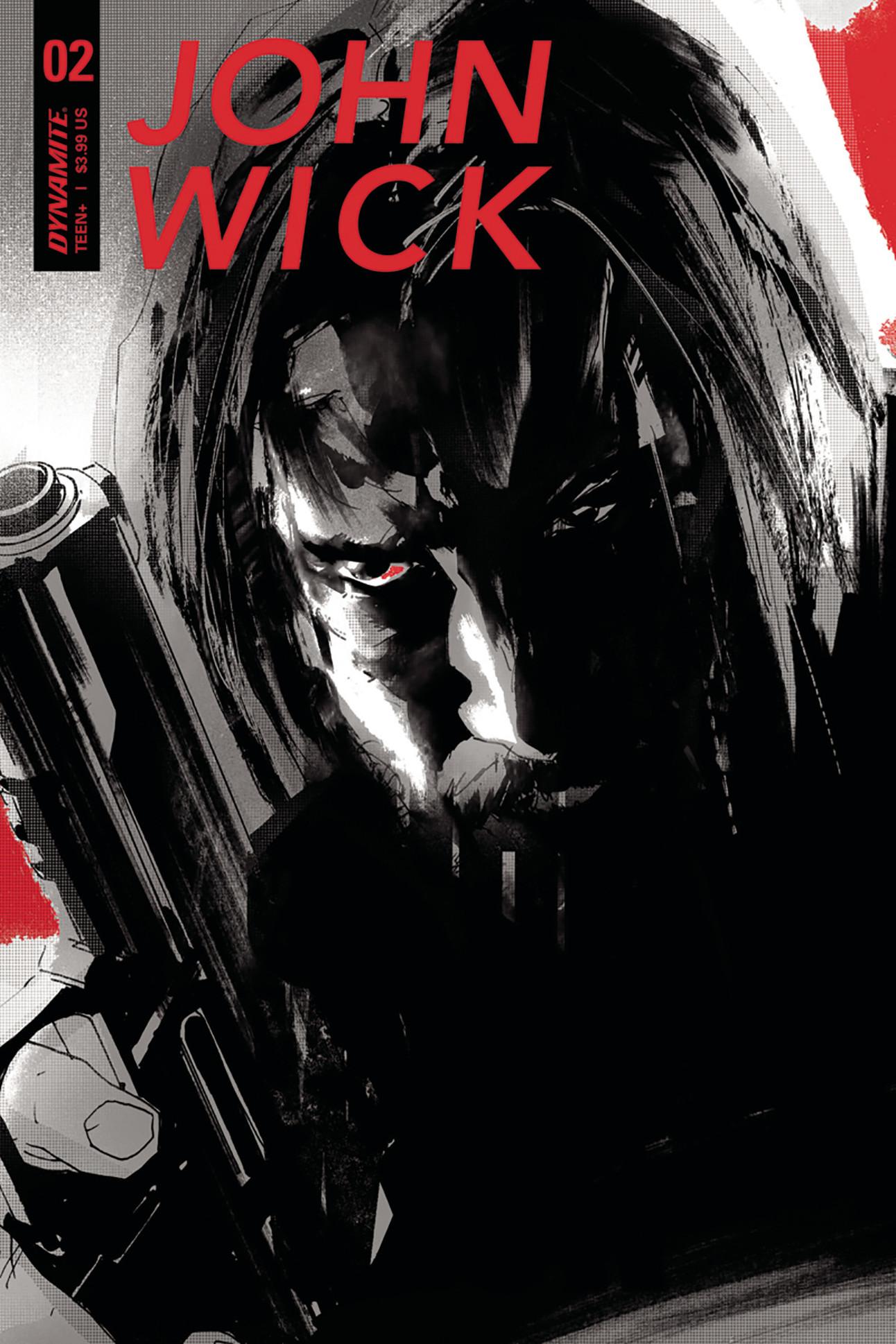 John Wick #2 Cover by Jock