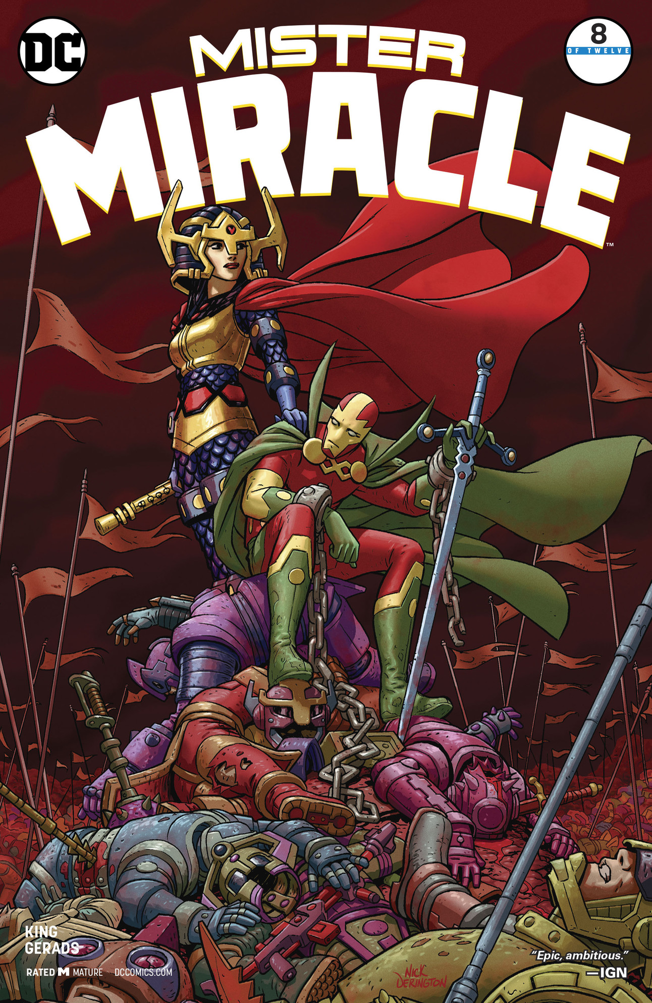 Mister Miracle #8 Cover by Nick Derington
