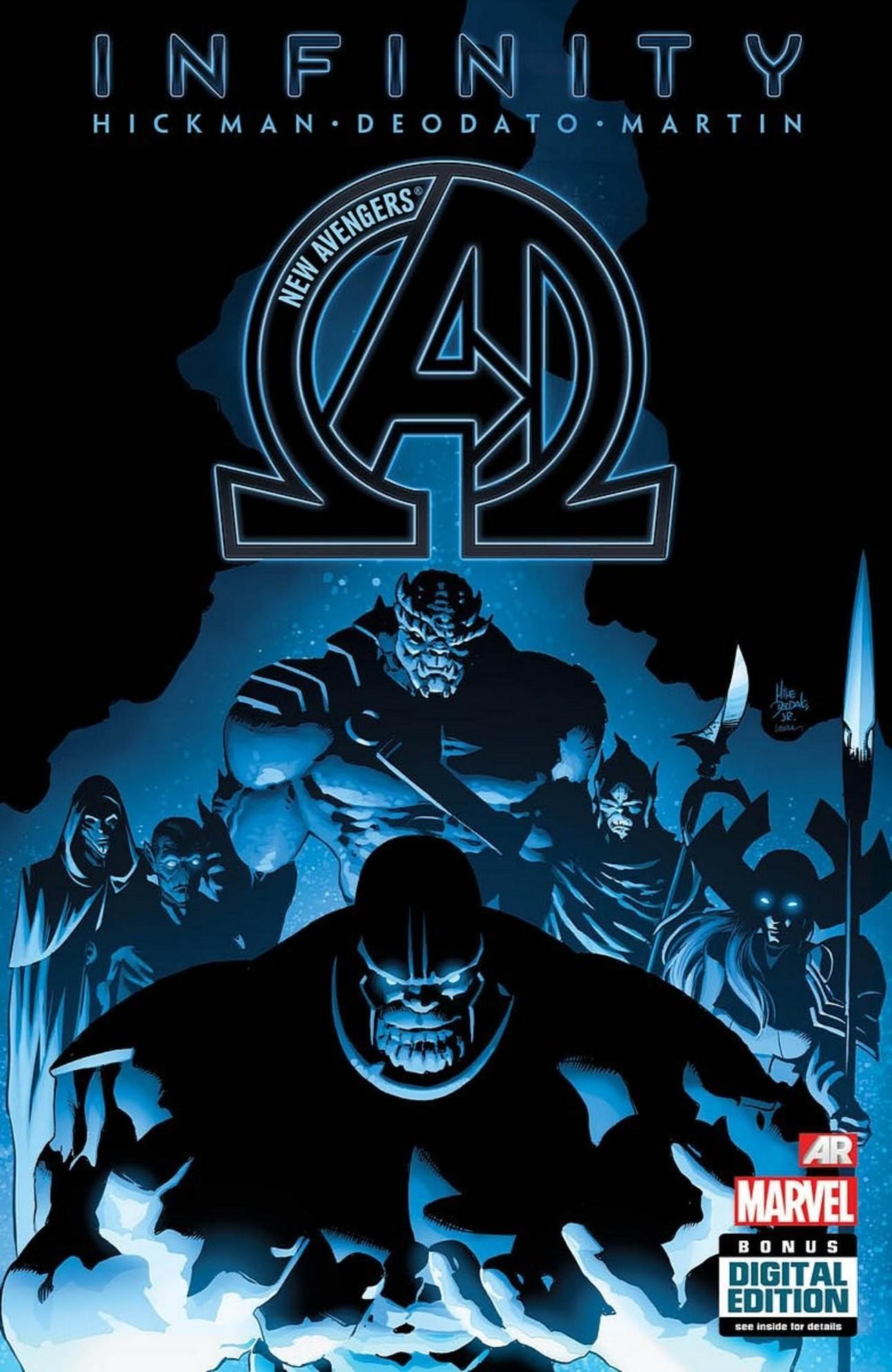 New Avengers 9, Marvel Comics, Black Order