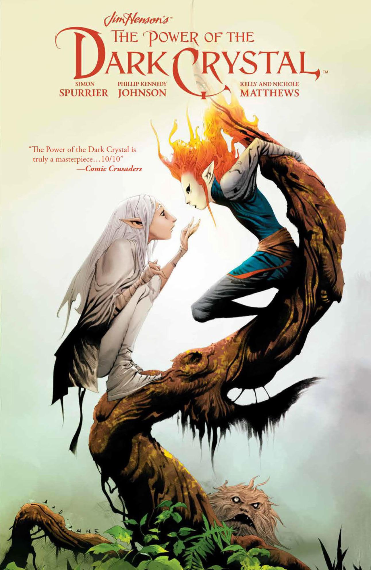 Power of the Dark Crystal HC Vol. 2 Cover by Jae Lee