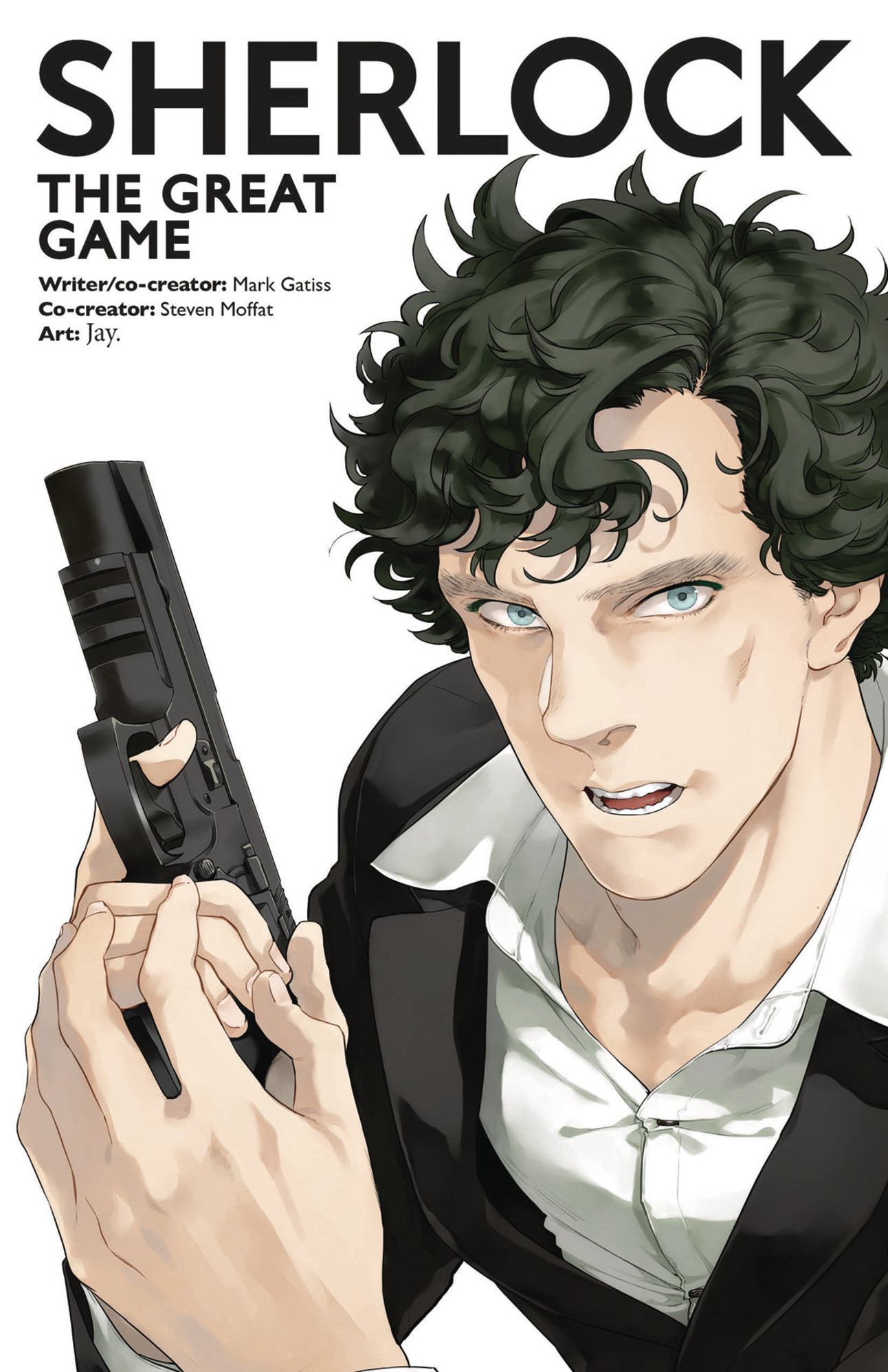 Sherlock The Great Game TP Cover by Jay