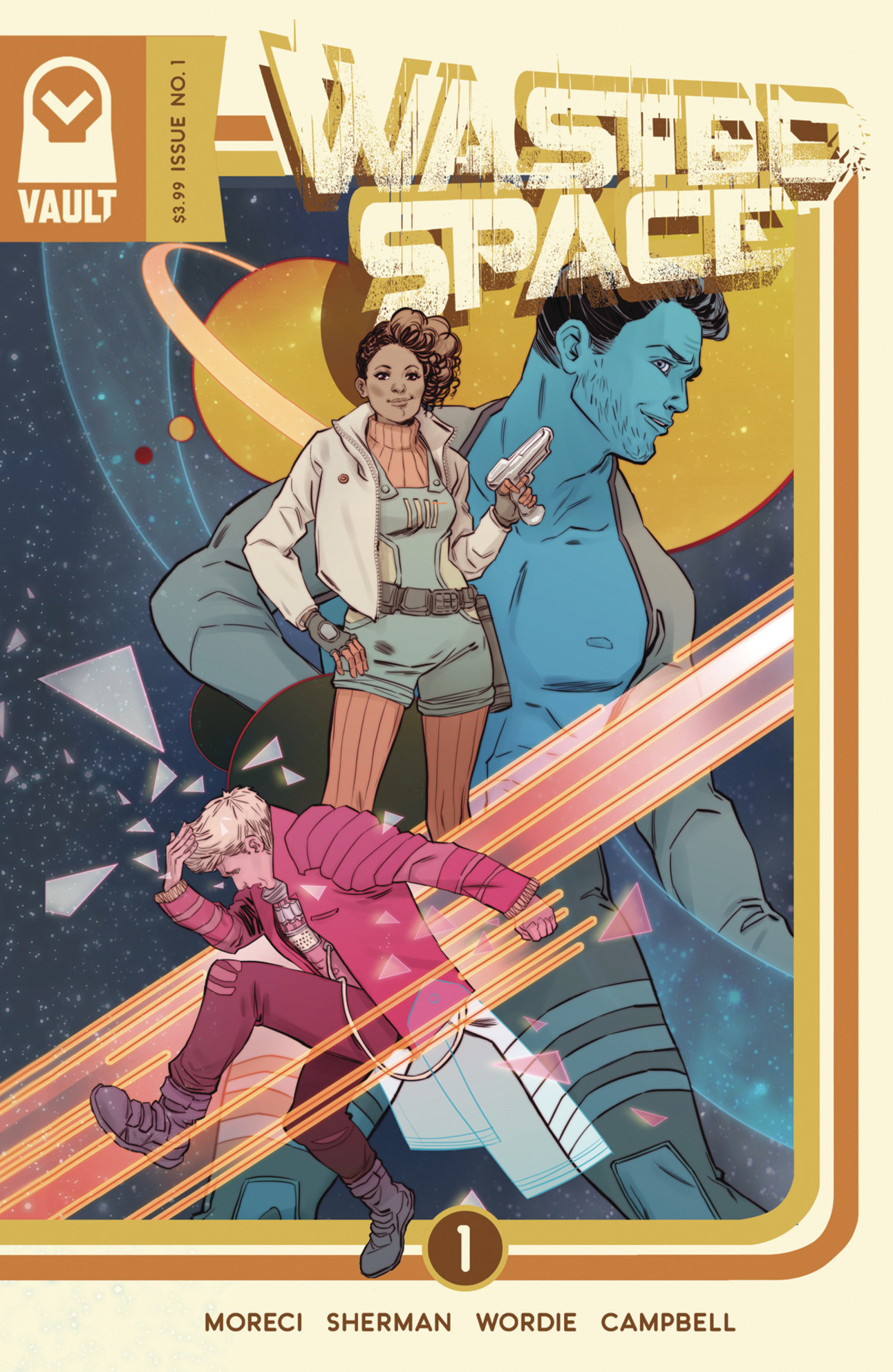 Wasted Space #1 Cover by Marguerite Sauvage