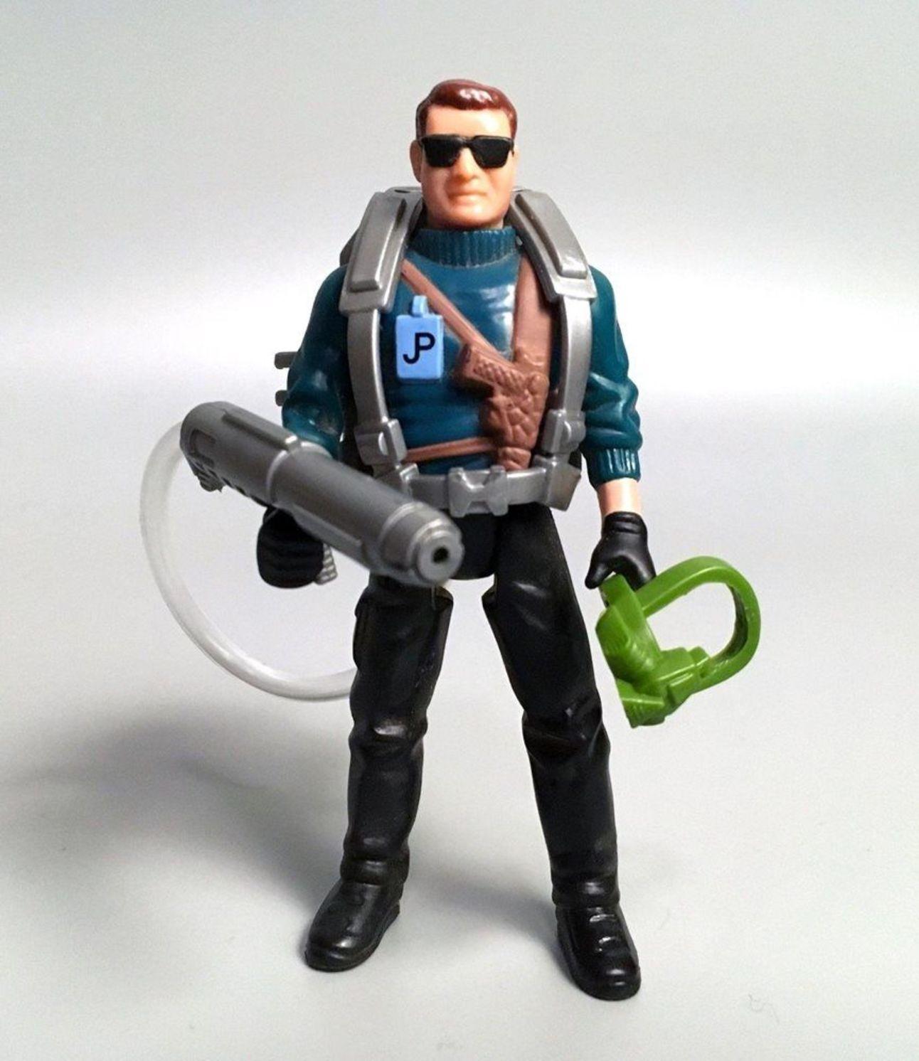 Jurassic Park Dennis Nedry action figure