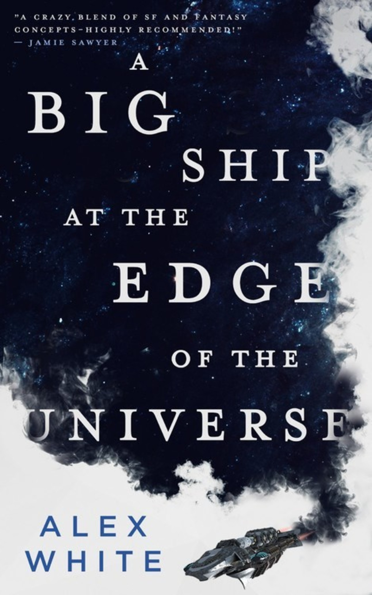 big ship at the edge of the universe