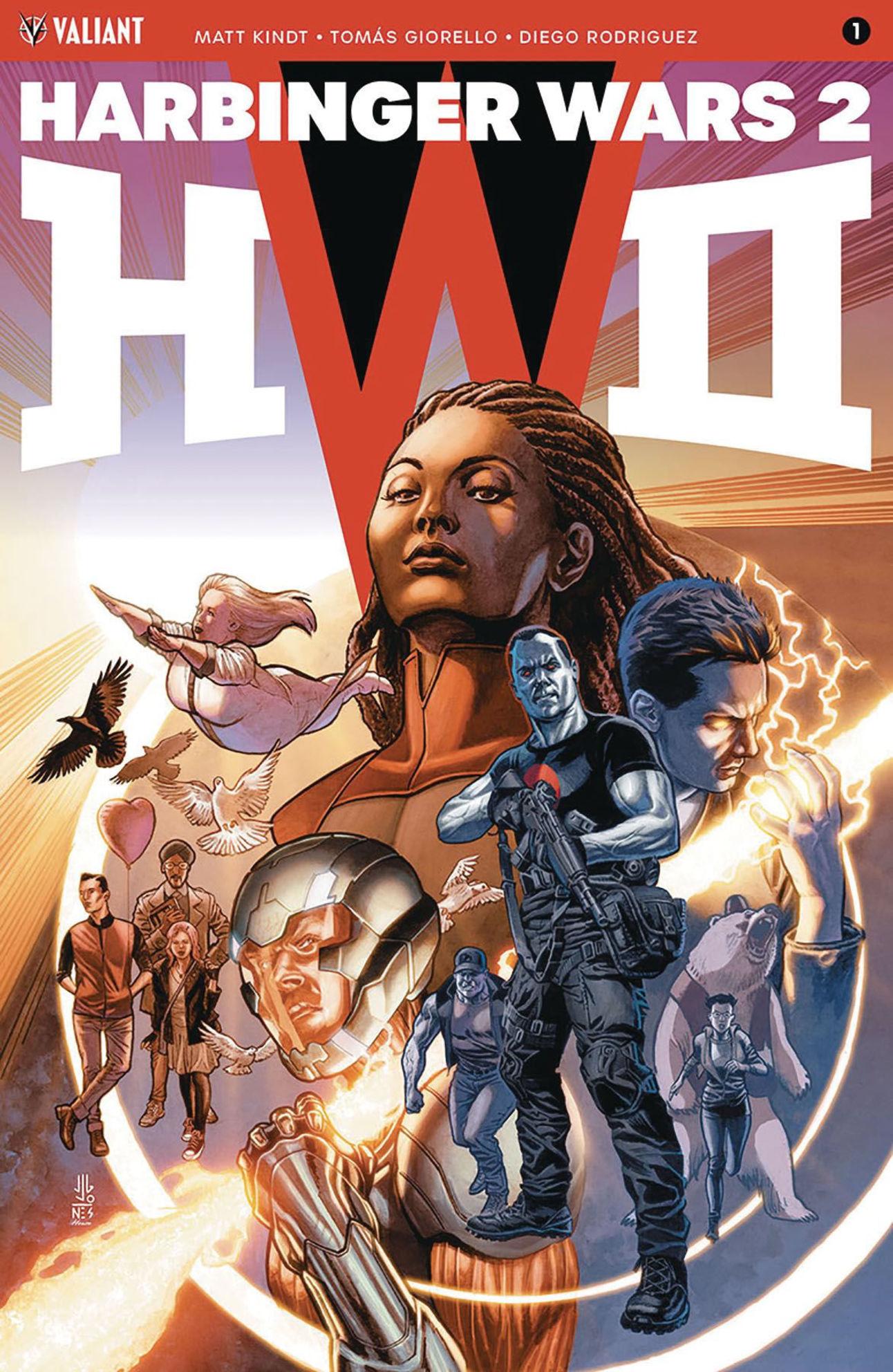Harbinger Wars 2 1 cover JG Jones