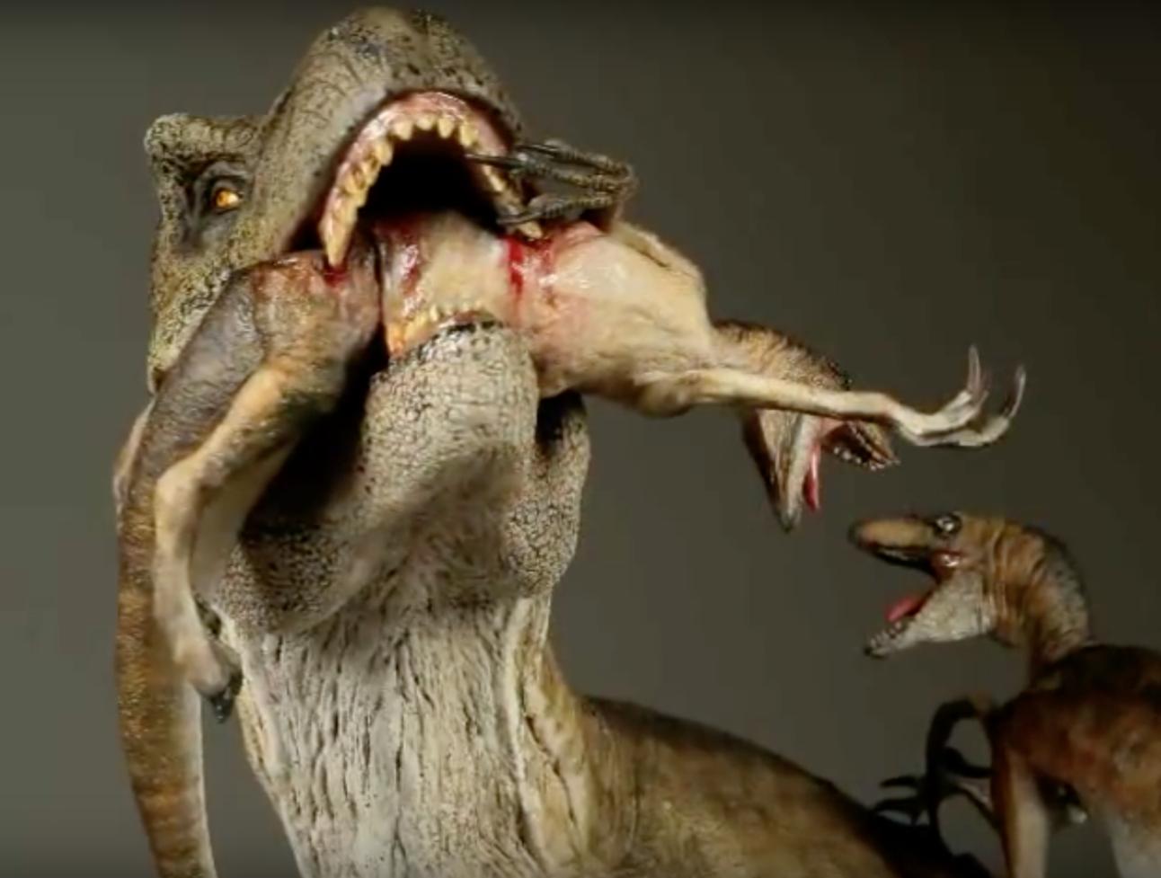 Jurassic Park T-Rex figure