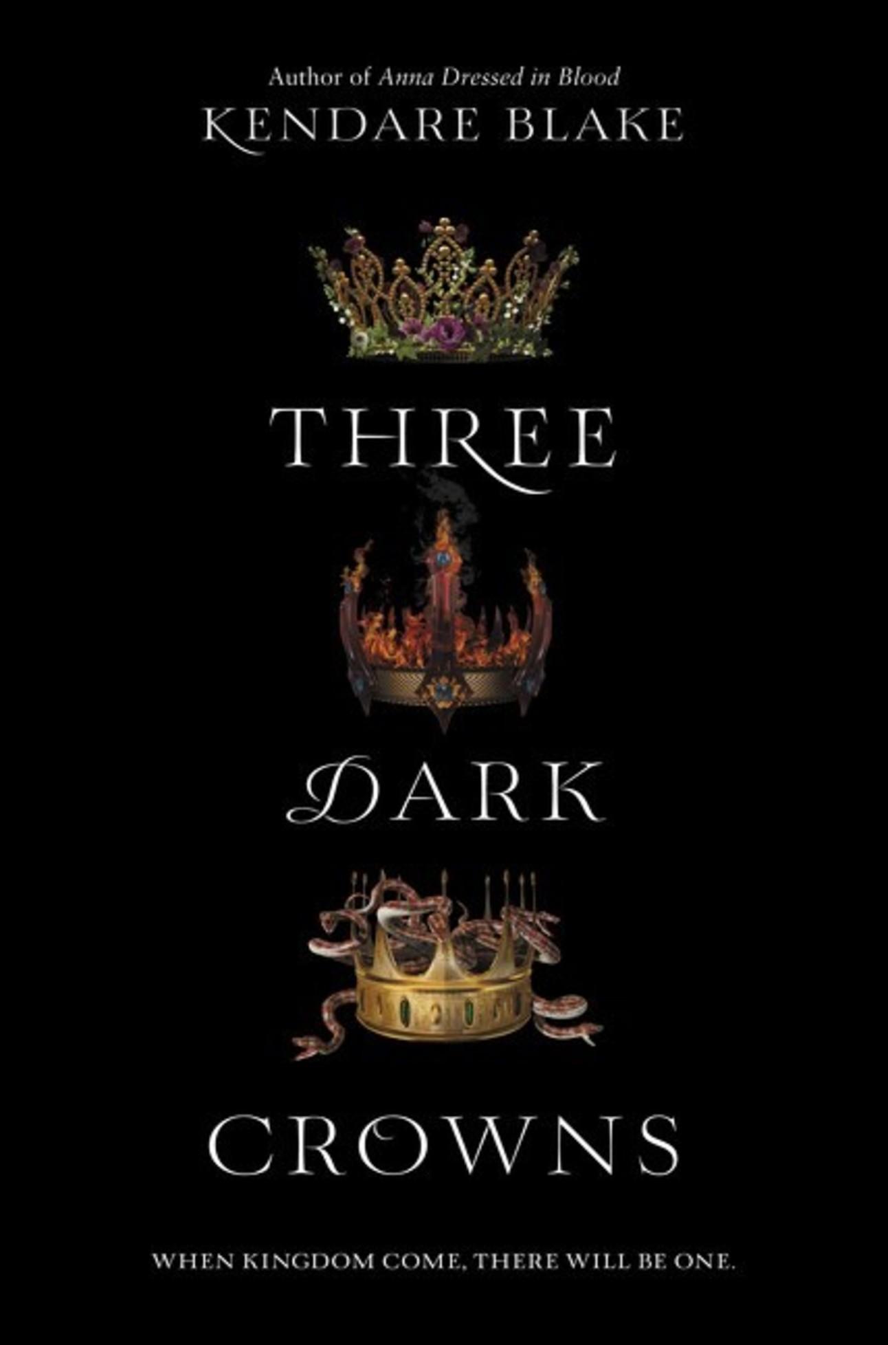 three dark crowns kendare blake