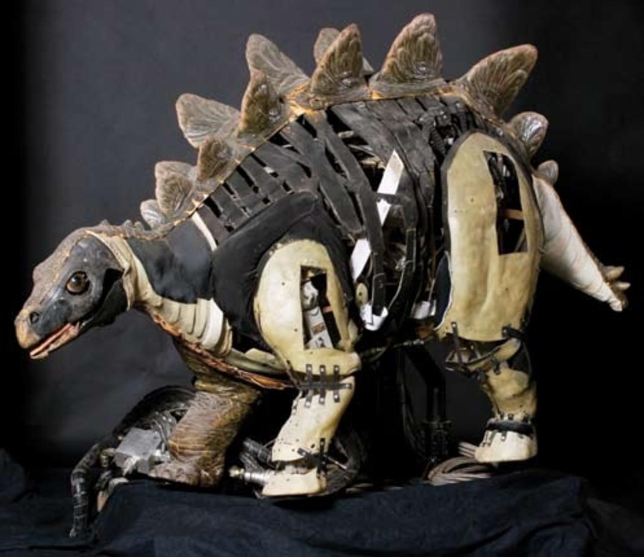 Jurassic Park hydraulic baby Stegosaurus